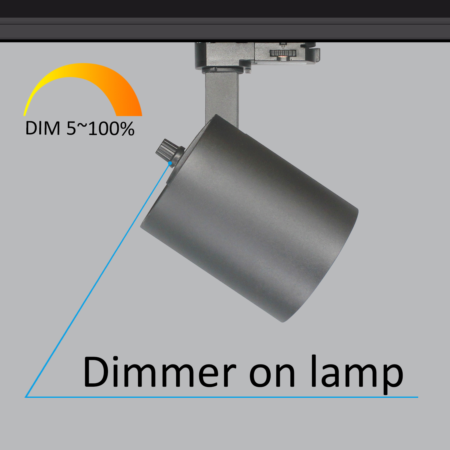 TLU-A Dimmer on Lamp